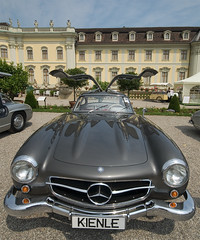 300SL gullwing in front of Ludwigsburg palace | by iPhotograph