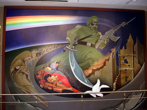 Mural at denver international airport this is what i for Denver mural airport