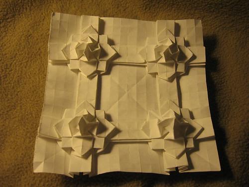 Origami White Kitchen Cabinets