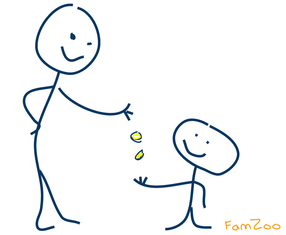 Reward Systems | Stick figure drawing of a kid getting a rew… | Flickr