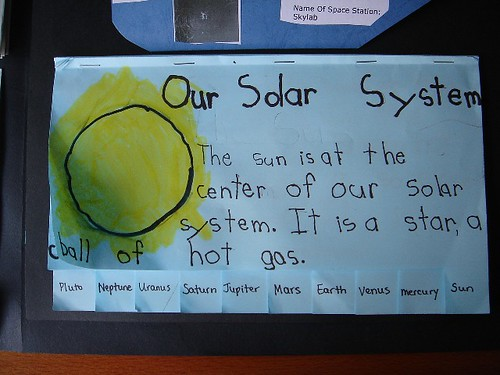 Our Solar System book | by jimmiehomeschoolmom