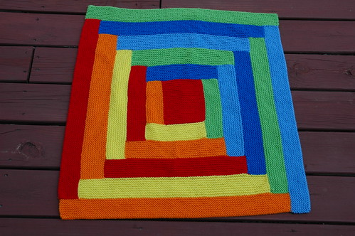 Joseph's Blankie of Many Colors | by theknittingelephant