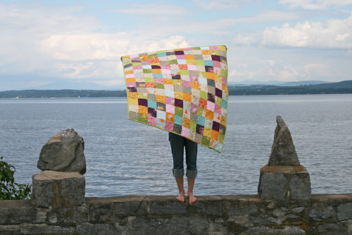 far far away II patchwork quilt | by filminthefridge