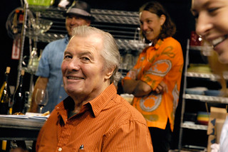 Jacques Pepin at the Essential Pepin wrap party | by bayareabites