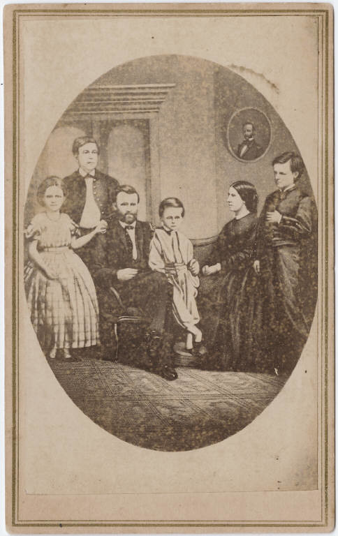 Photograph Copy Of Ulysses S Grant Family