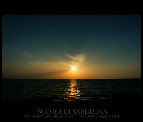 tramonto san giovanni di sinis | by mauronster