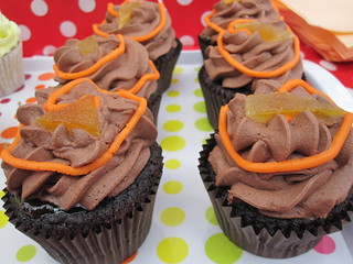 Vegan Jaffa Cake Cupcakes | by veganbackpacker