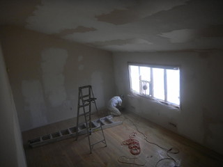 Plaster Repair for Skim Coat Drywall Project in Hillside New Jersey | by OlgerFallasPainting