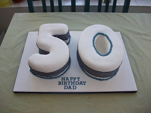 50th birthday cake | by platypus1974