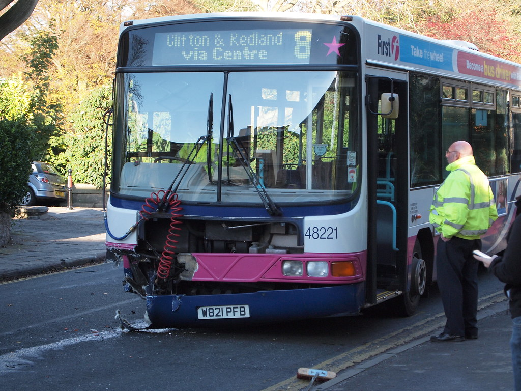 First Bus Crash Bristol By Wesley_thorne