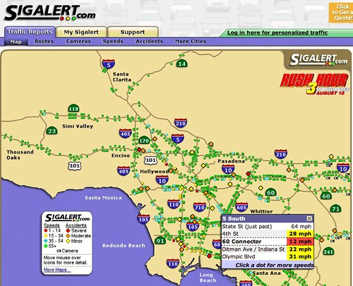 Sigalert.  Los Angeles & Orange County Traffic Report … | Flickr