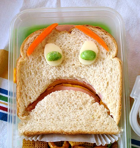 terrified sandwich closeup | by Sakurako Kitsa
