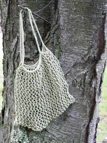Linen Elisa Bag | by doggedknits