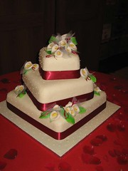 wedding cake by mum | by Cherry Pi