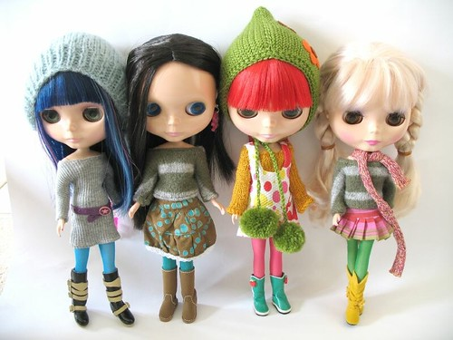 my blythe family | by fuchsia and purplechimp