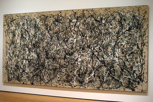 NYC - MoMA: Jackson Pollock's One: Number 31, 1950 | by wallyg