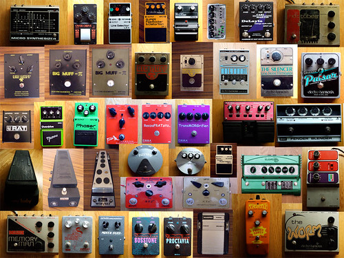 my pedal collection | by konditorei