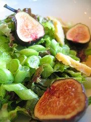 fig and green bean salad | by tofu666
