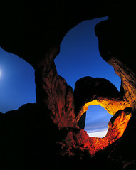 "Double Arch - night exposure | by IronRodArt - Royce Bair (""Star Shooter"")"