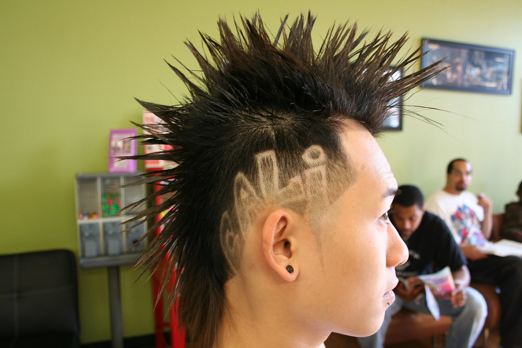 Mohawk Haircut With Design 2 Of 3 Contemporary Mohawk With Flickr
