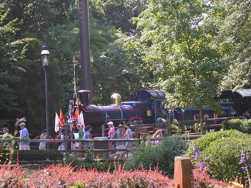 Busch Gardens Train A Steam Train At Busch Gardens