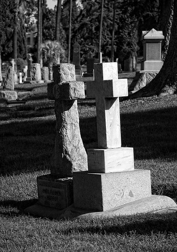 The Crosses at Olivewood Cemetery | by Dave Toussaint (www.photographersnature.com)