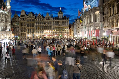grand place Brussels | by AMANITO