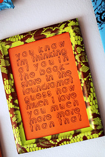 lace-stenciled frame | by -leethal-