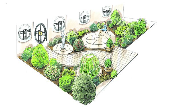 The Ying And Yang Garden ED 094 Front | Earth Designs Garden… | Flickr