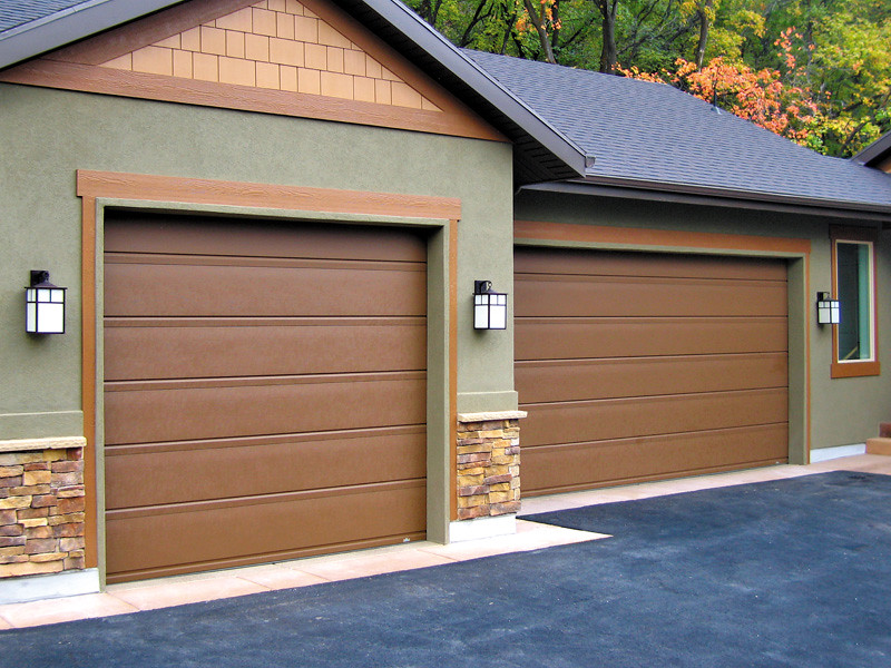 ... Carywaynepeterson Garage Doors Flushline Rusty Iron Finish | By  Carywaynepeterson