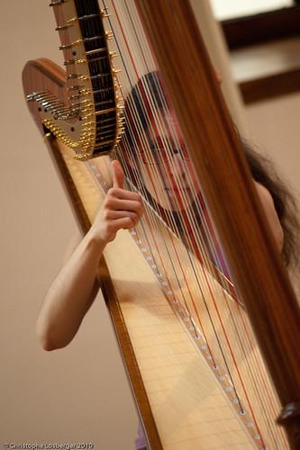 alice aubert fete de la musique 2010 alice aubert harp flickr. Black Bedroom Furniture Sets. Home Design Ideas