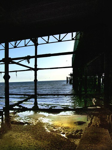 Beach under the pier | by Peter Juerges