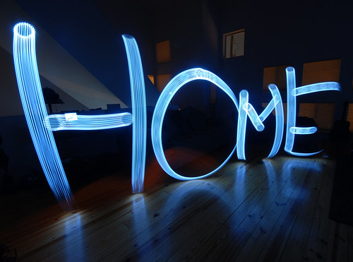 Home is where the LIGHT is | by Www.ArtandSteel.coM