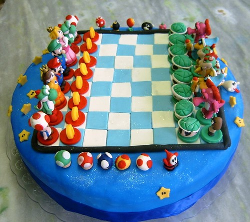 Edible Mario Cake Images