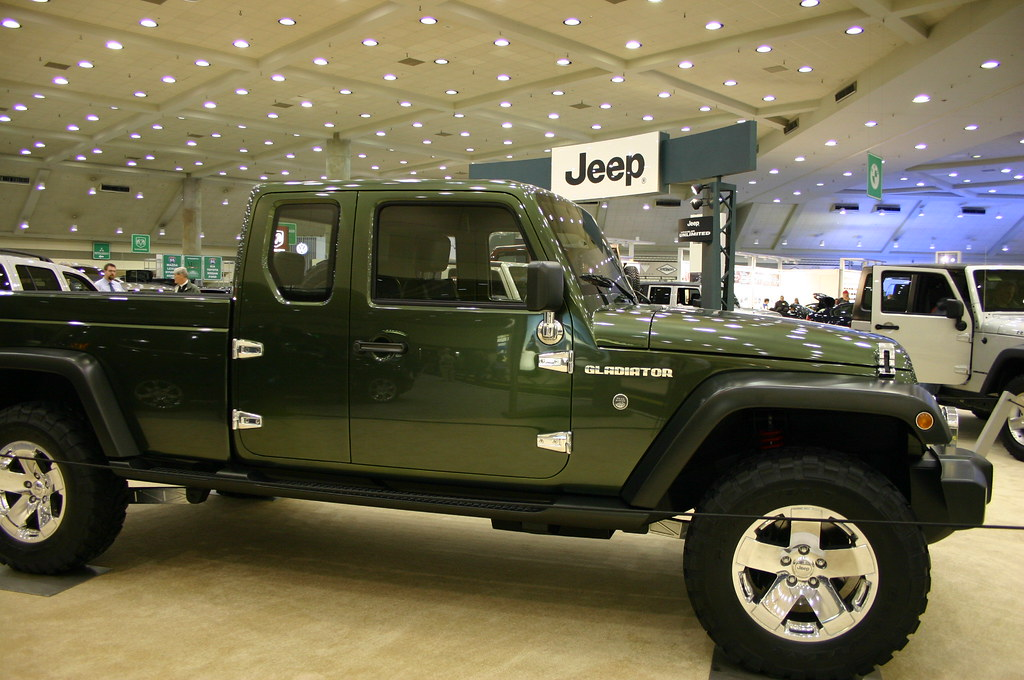 Jeep Gladiator Concept Car At … Flickr