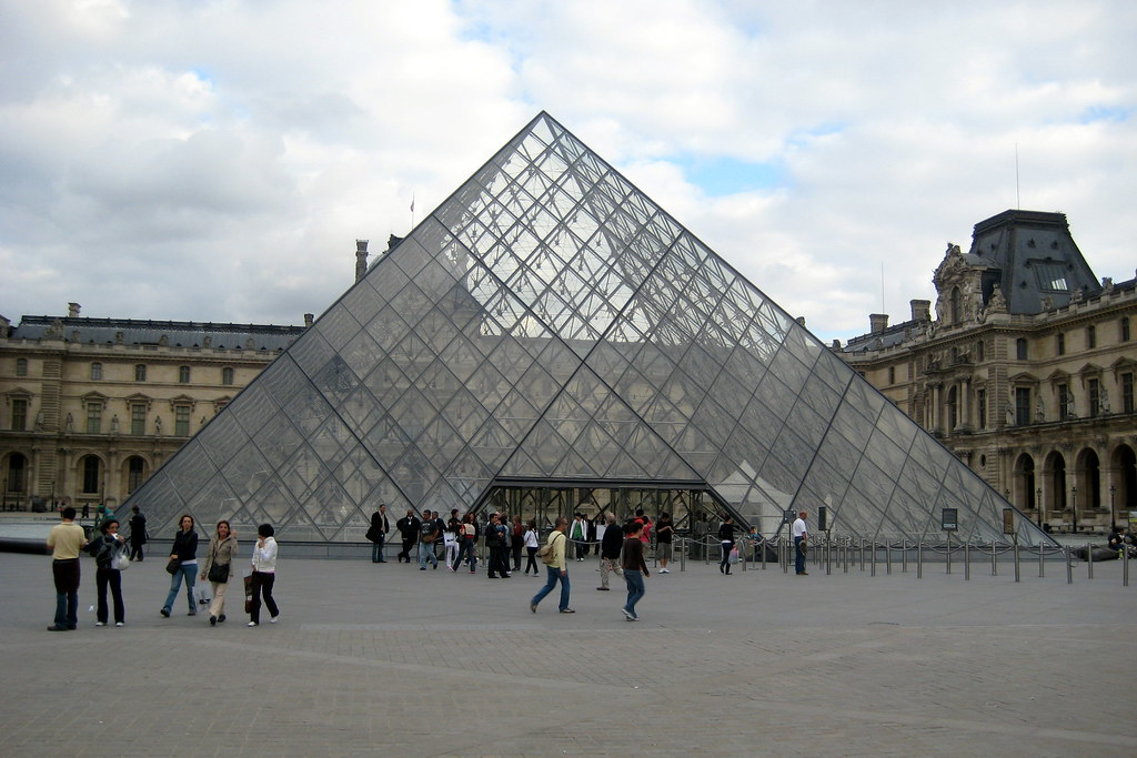 Image result for Musee Du Louvre (Pyramid)