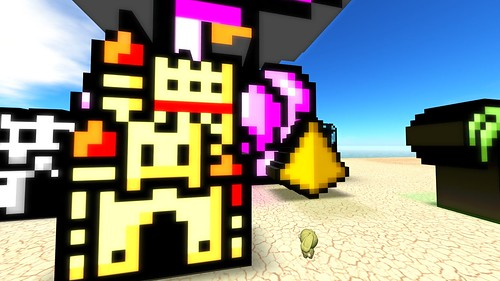 8 bit pixel art in your face! in 3d! | by ▓▒░ TORLEY ░▒▓