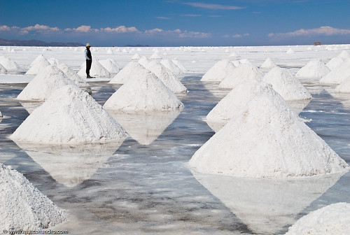 Salt Piles | by Marc Shandro