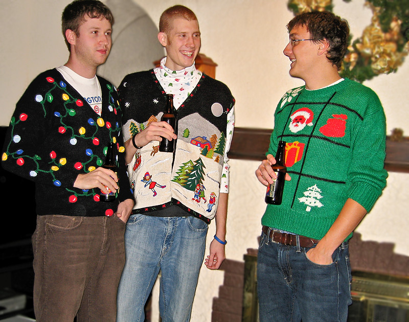 Image result for ugly sweater party