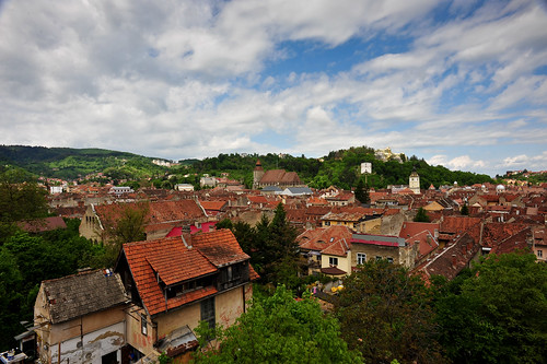 View of Braşov | by goingslowly