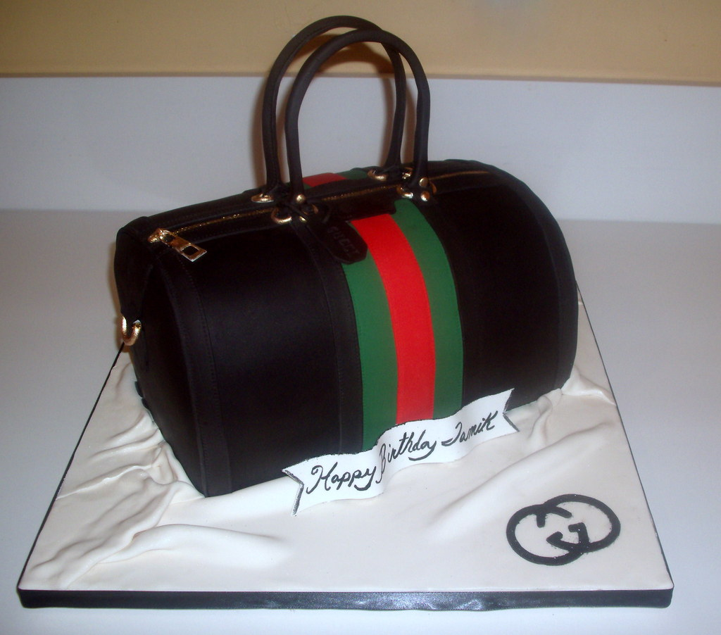 Gucci Vintage Medium Boston Bag Birthday Cake Red Velvet C Flickr