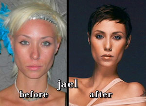 strauss before and after Jael