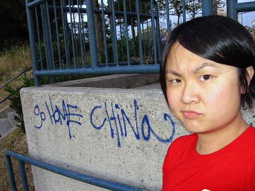 Vancouver | Racist graffiti no. 1: Go Home China | by ardenstreet