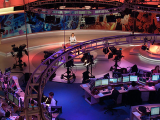 al jazeera english newsroom | by Paul Keller