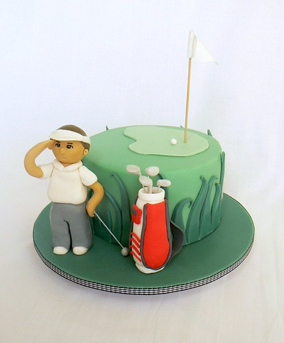 Golf cake | by Sweet 'art