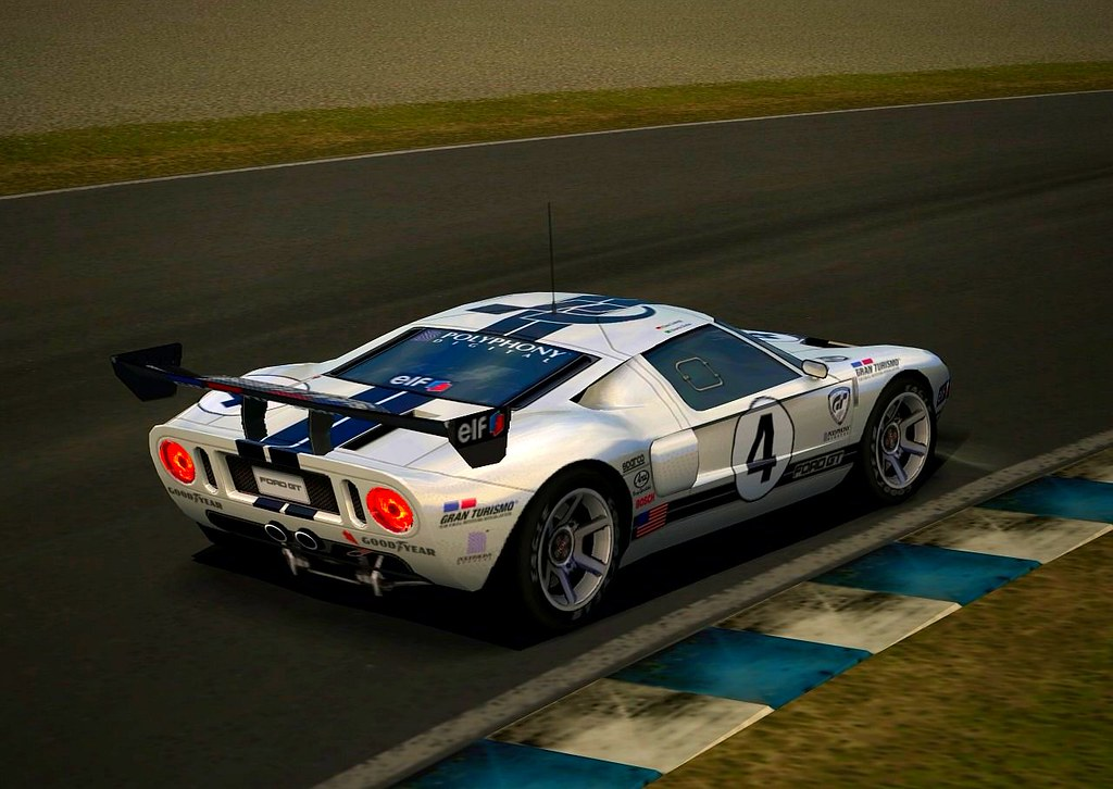 Gran Turismo  Ford Gt Lm   By Kelvin
