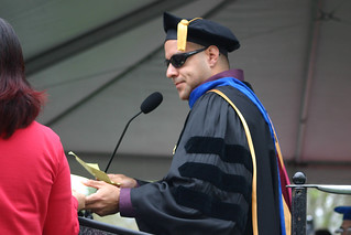 Paul Rivera reading graduates names | by California State University Channel Islands