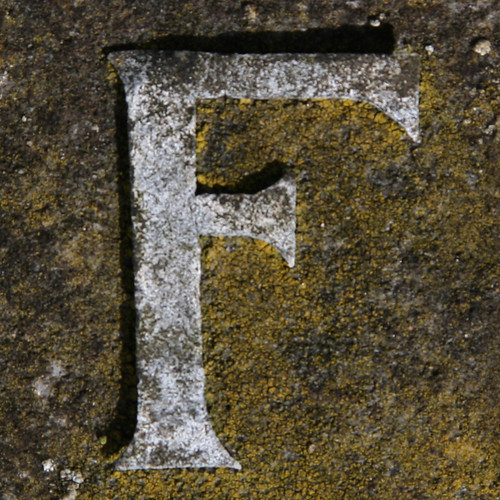 letter F | by Leo Reynolds