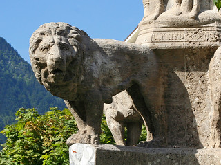 The Bavarian Lion - he looks not amused! | by rotraud_71