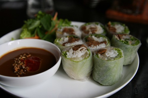 yummy mock dock spring rolls | by massdistraction